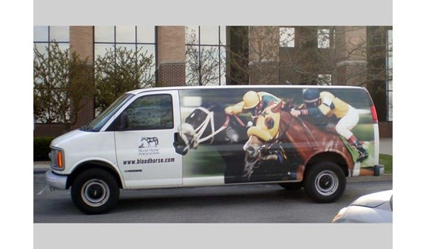 - Image360-Lexington-KY-Full-Vehicle-Wrap-Blood-Horse